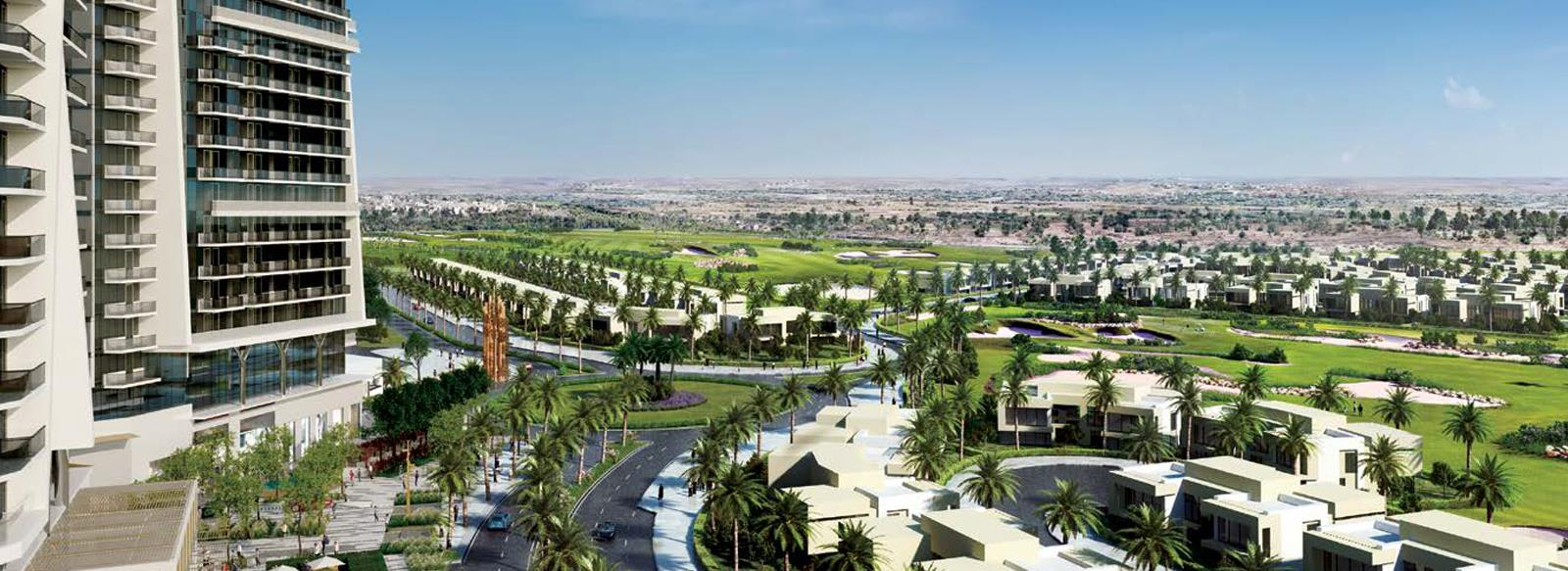 <div>Studio, 1, 2 &amp; 3 Bedroom Serviced Apartments,</div><div>Starting From AED 643,000</div>