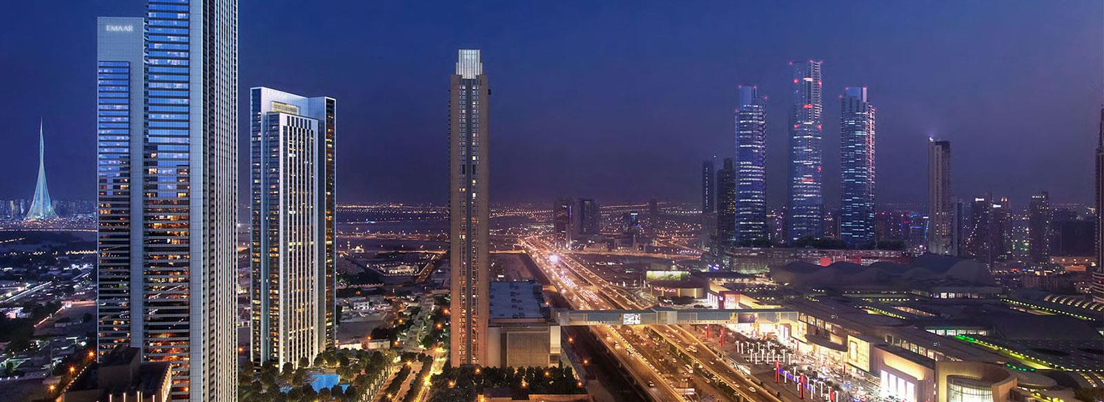 Luxury 1, 2 &amp; 3 Bedroom Apartments<div><div>3 Bedroom Starting From AED 2,961,888</div></div>