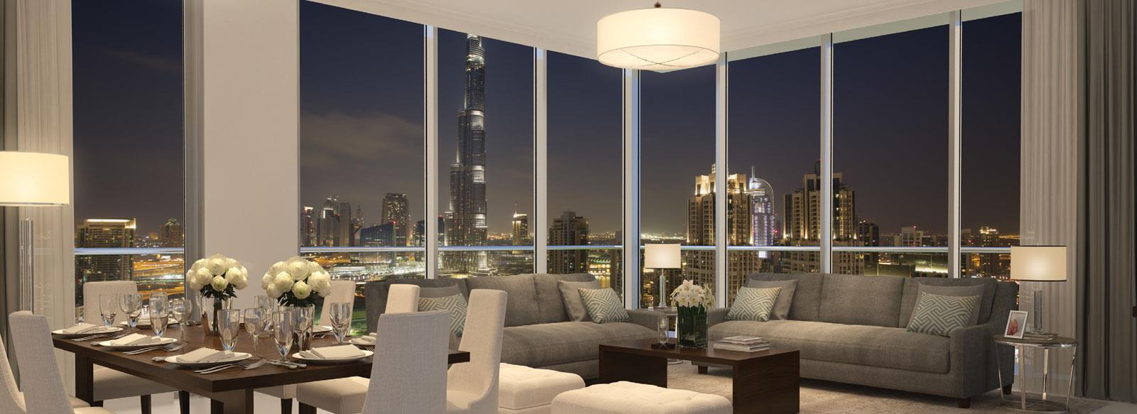 Blvd Crescent Apartments by Emaar - Downtown Dubai