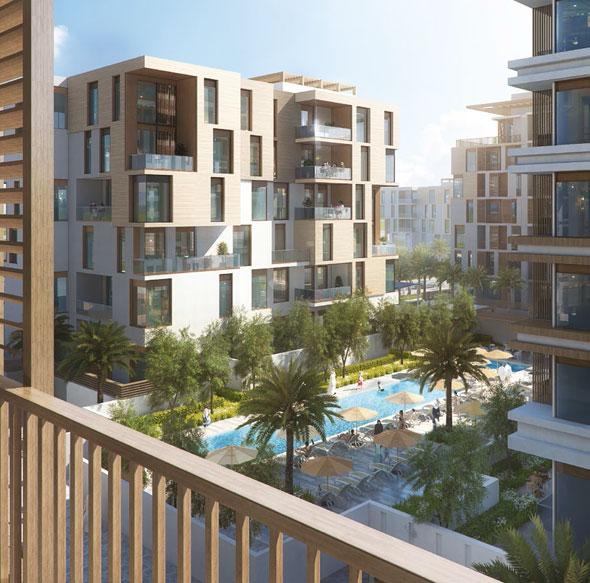 Hillside Residences by Wasl Group at Jebel Ali, Du