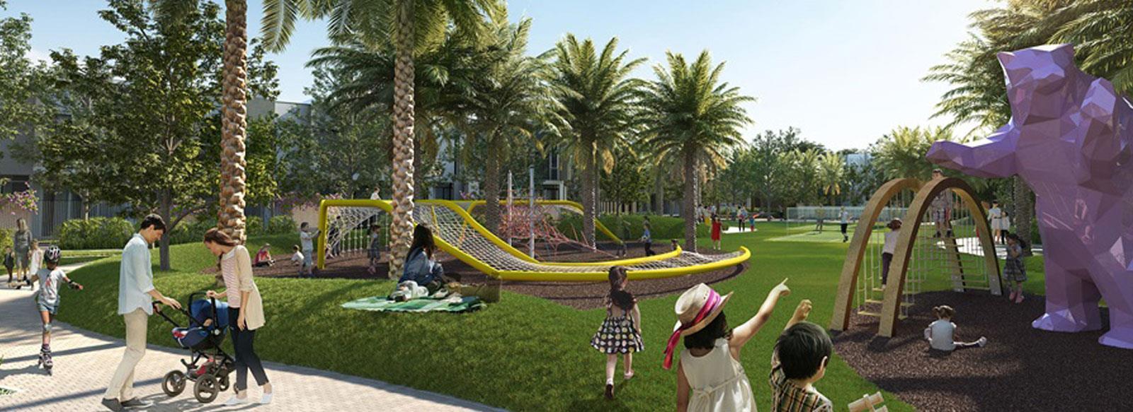 Lush Green Parks