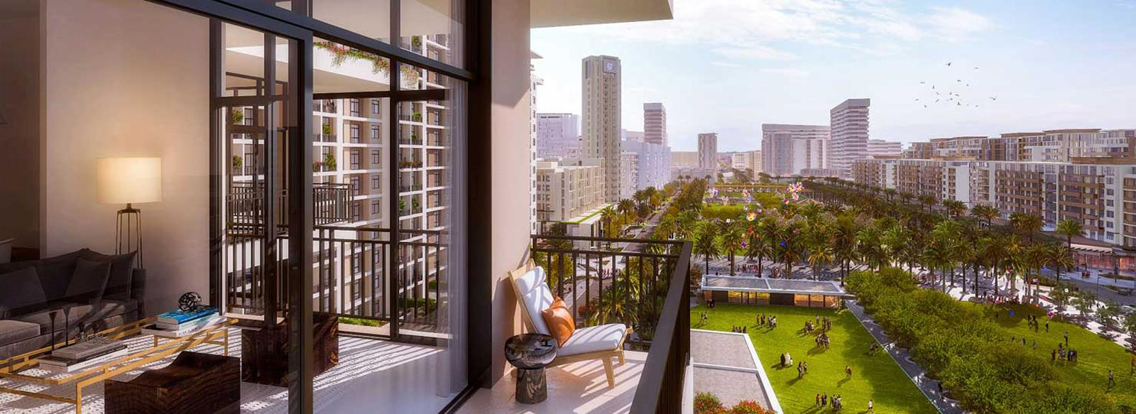 Panoramic Views from Apartments