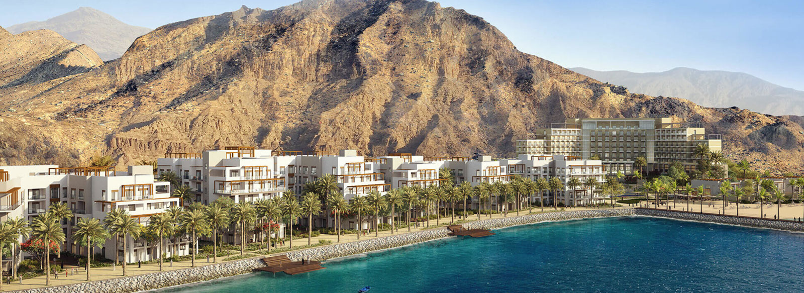 Views from Address Residences Fujairah