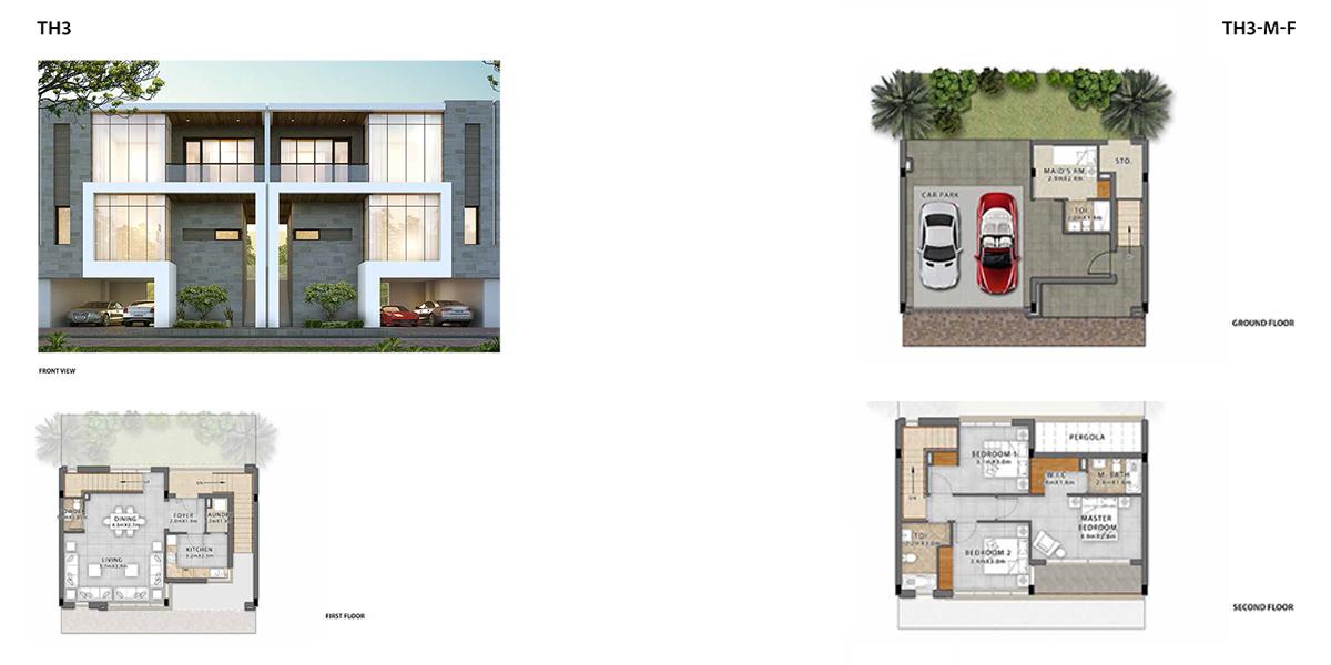 3 Bedroom TH3