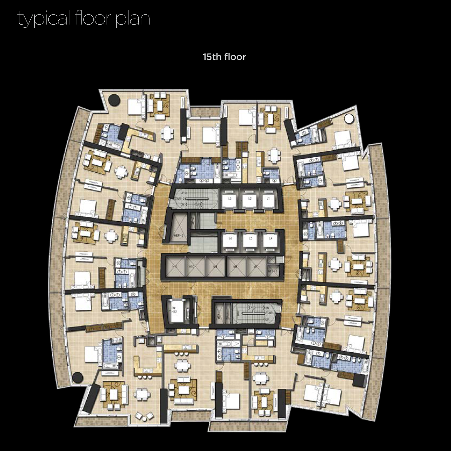 15th-Floor--Typical-Floor-Plan