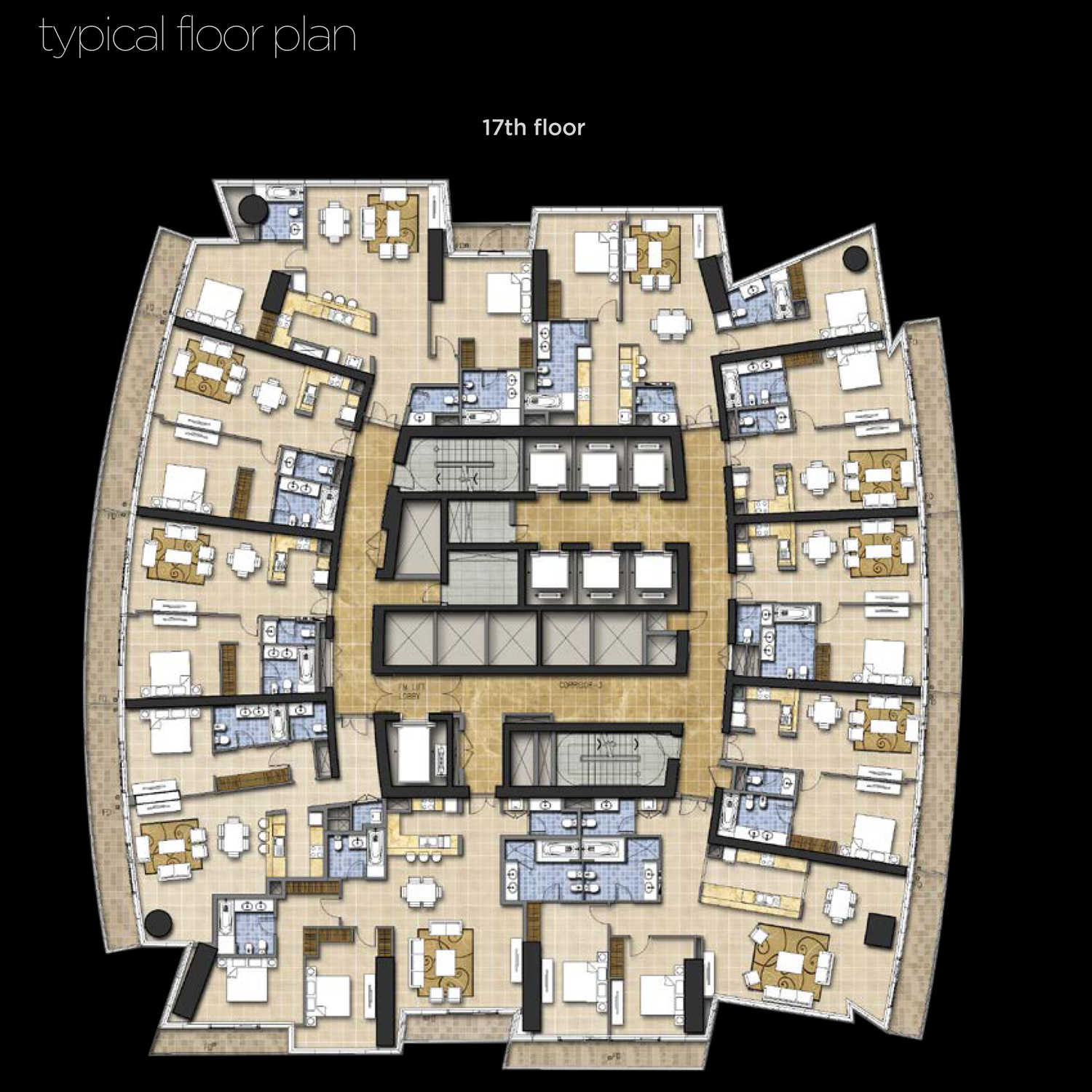 17th-Floor--Typical-Floor-Plan