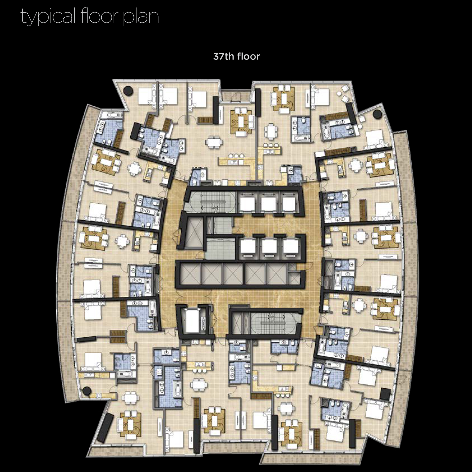 37th-Floor--Typical-Floor-Plan