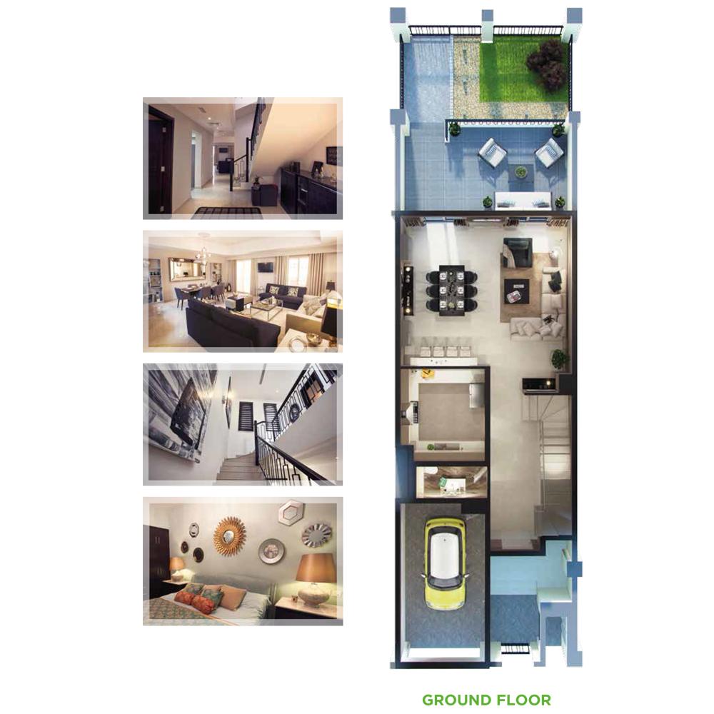3 Bedroom Ground Floor