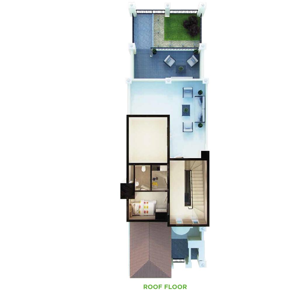 3 Bedroom Roof Floor