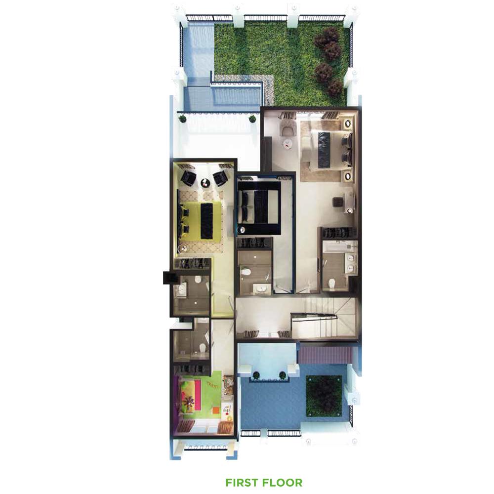 4 Bedroom 1st Floor
