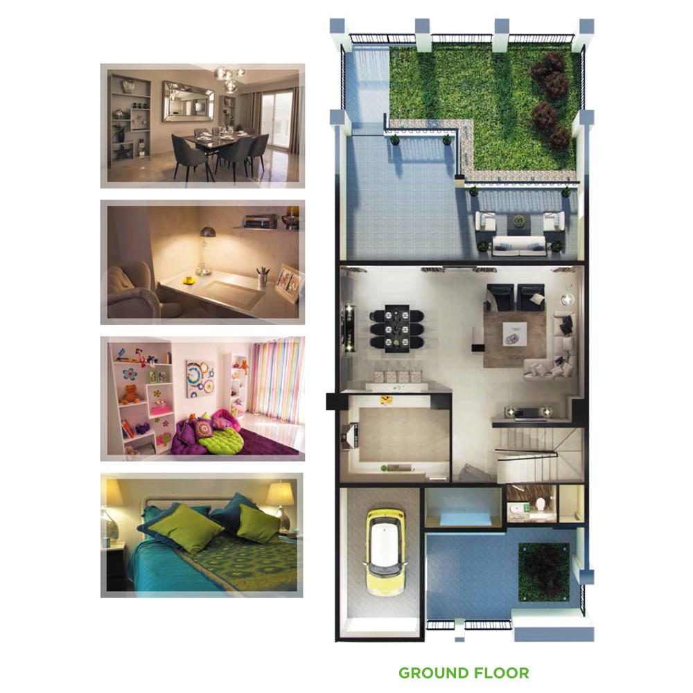 4 Bedroom Ground Floor