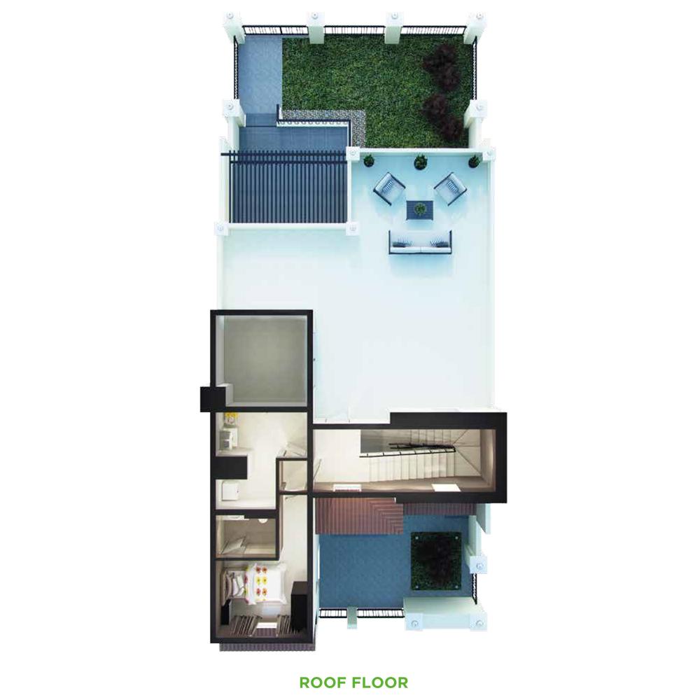 4 Bedroom Roof Floor