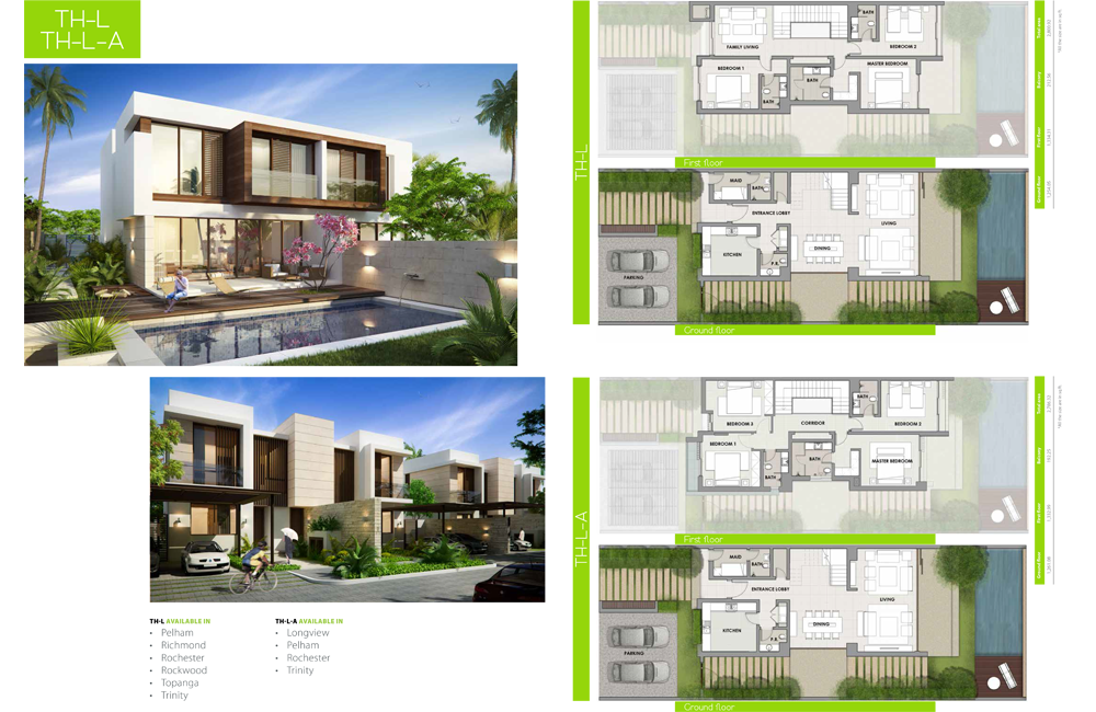 TH-L-A Type    Villa, Size 2786.32 sq ft