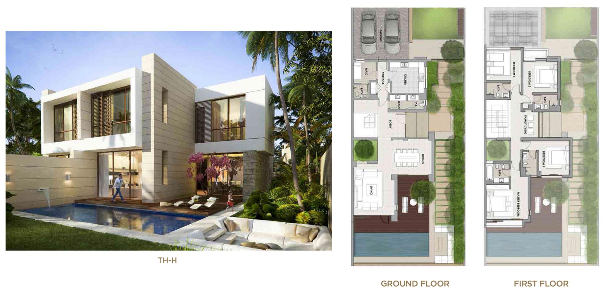Akoya Damac Hills Floor Plan