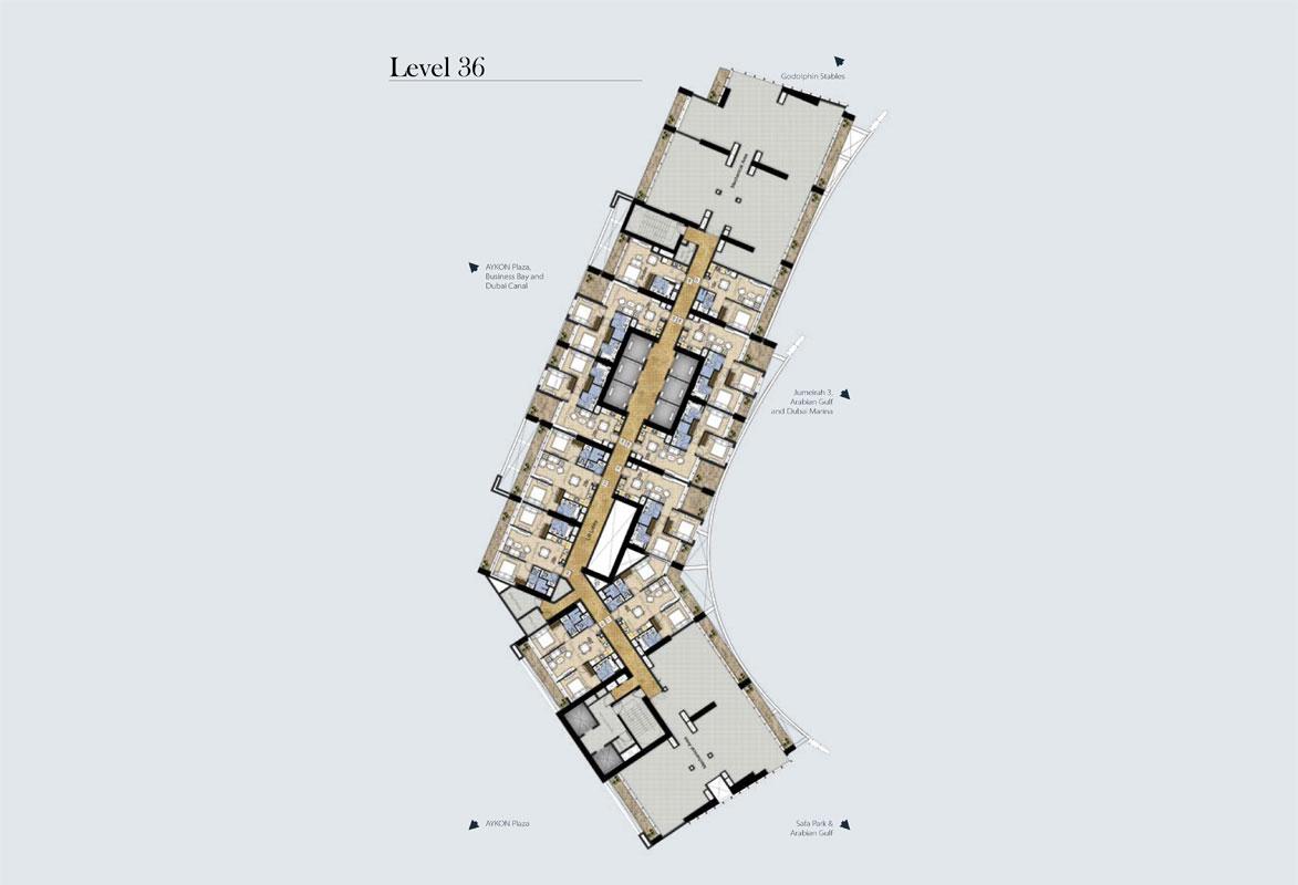 Typical-Floor-Plan-Level-36