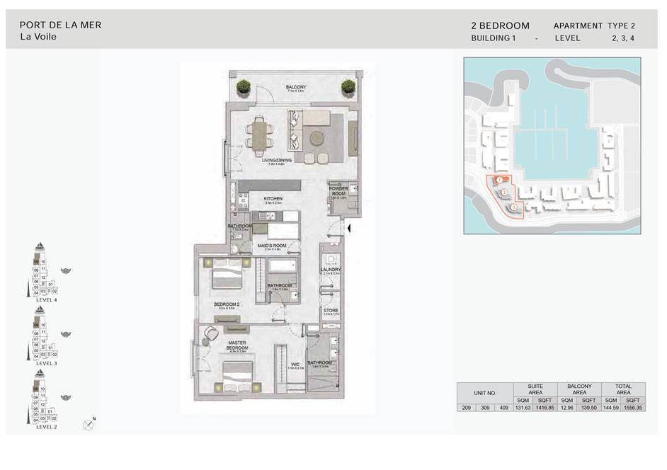 2-Bedroom,-Type-2,-Level--2-to-4,-Size-1556.35  sq. ft.