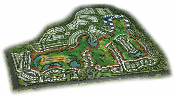 Fendi Styled Villas :  Master Plan