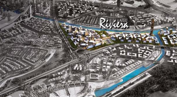 Azizi Riviera Meydan :  Master Plan