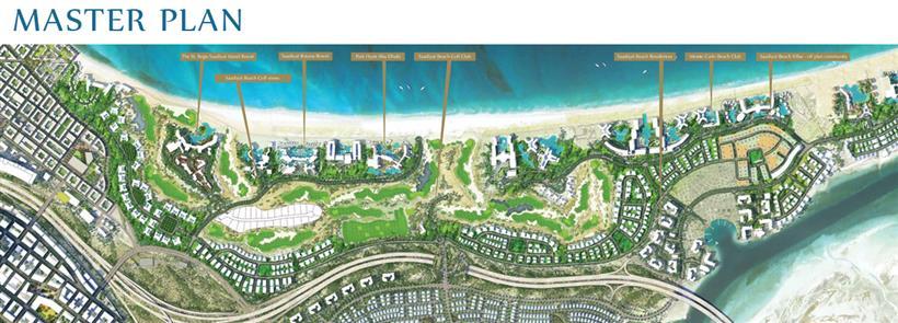 Saadiyat Beach Villas :  Master Plan