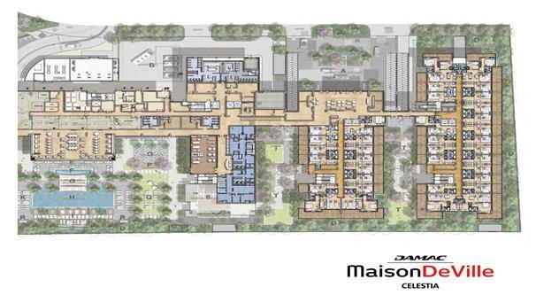 Maison DeVille Celestia :  Master Plan