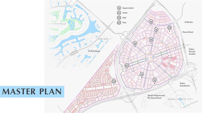 Beverly Residence :  Master Plan