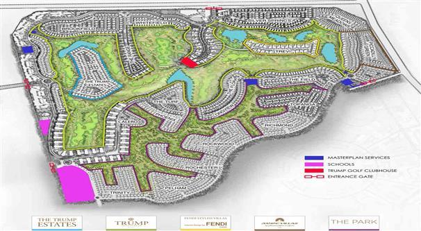 Akoya Damac Hills :  Master Plan