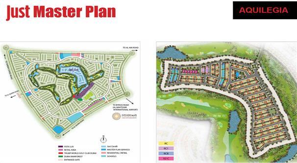 Just Cavalli Villas :  Master Plan