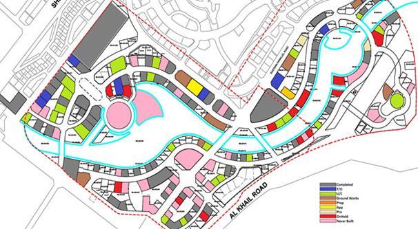 Vera Residences :  Master Plan