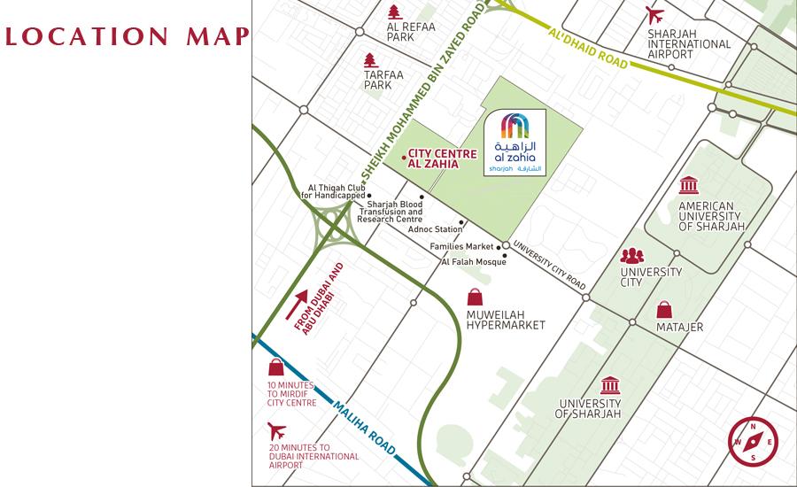 Al Lilac Location Map