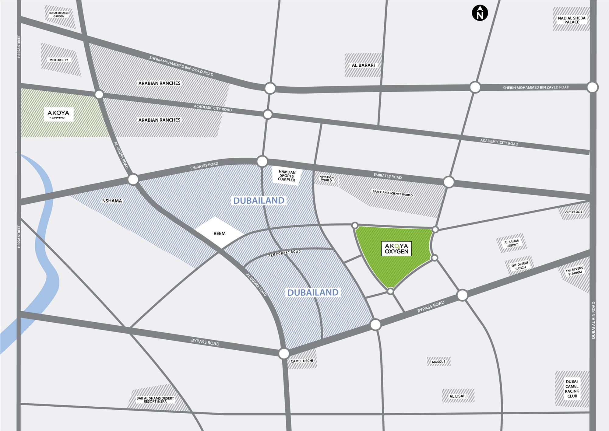 Tower 108 -  Location Plan