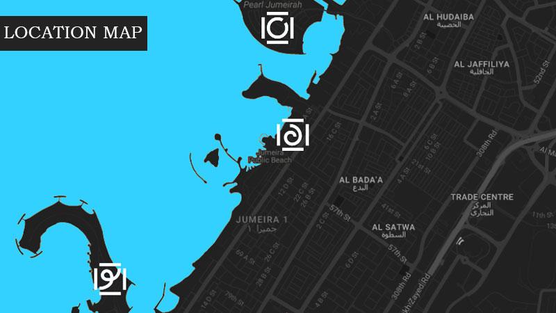 Meraas La Cote Location Map