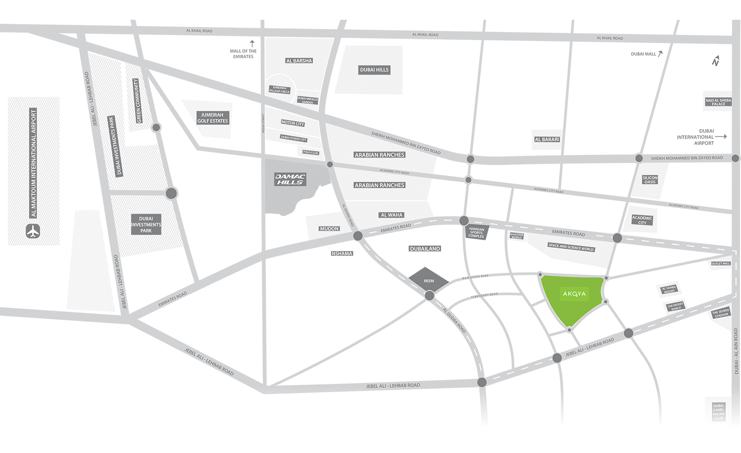 Adria Villas Location Map