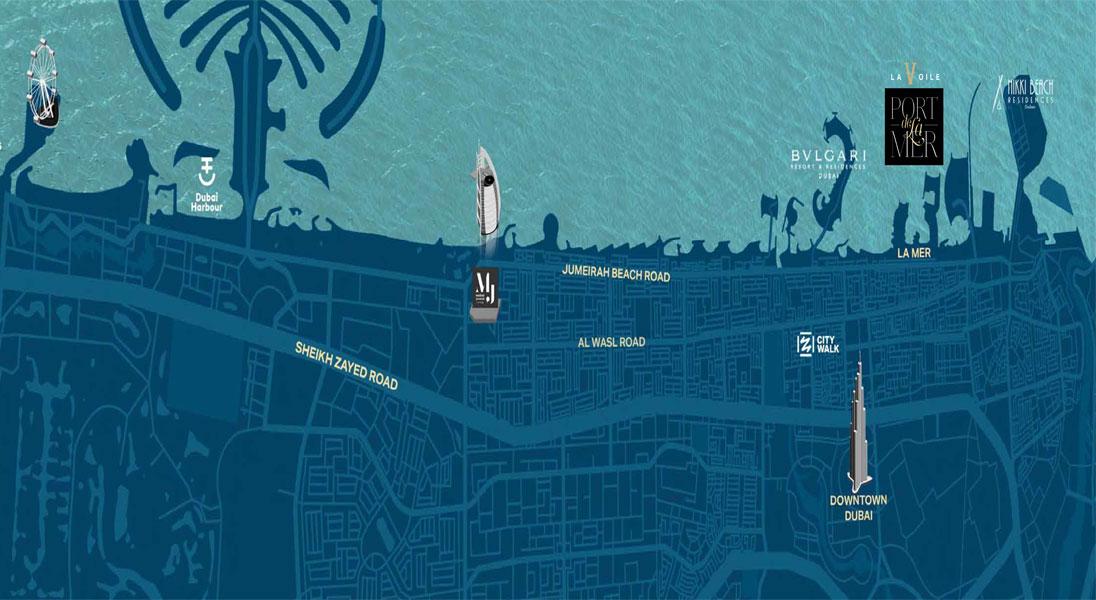 La Voile Building 3 Location Map