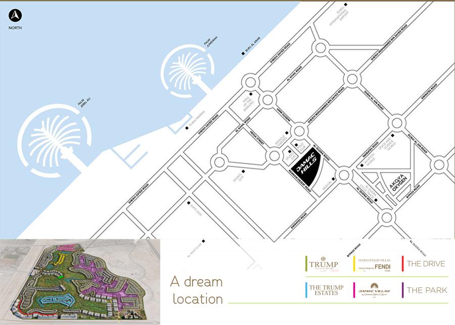Park Villas -  Location Plan