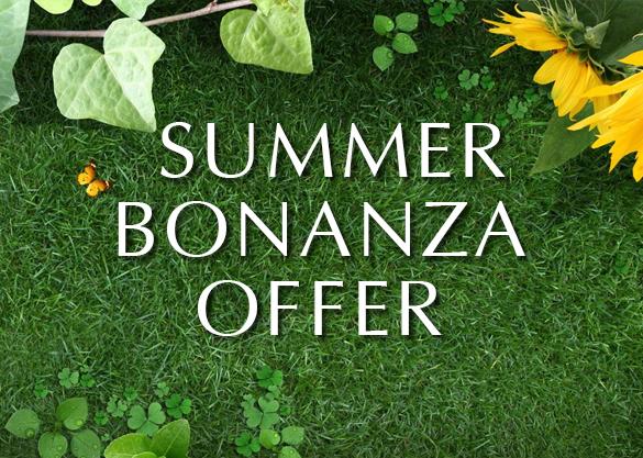Summer Bonanza Offer