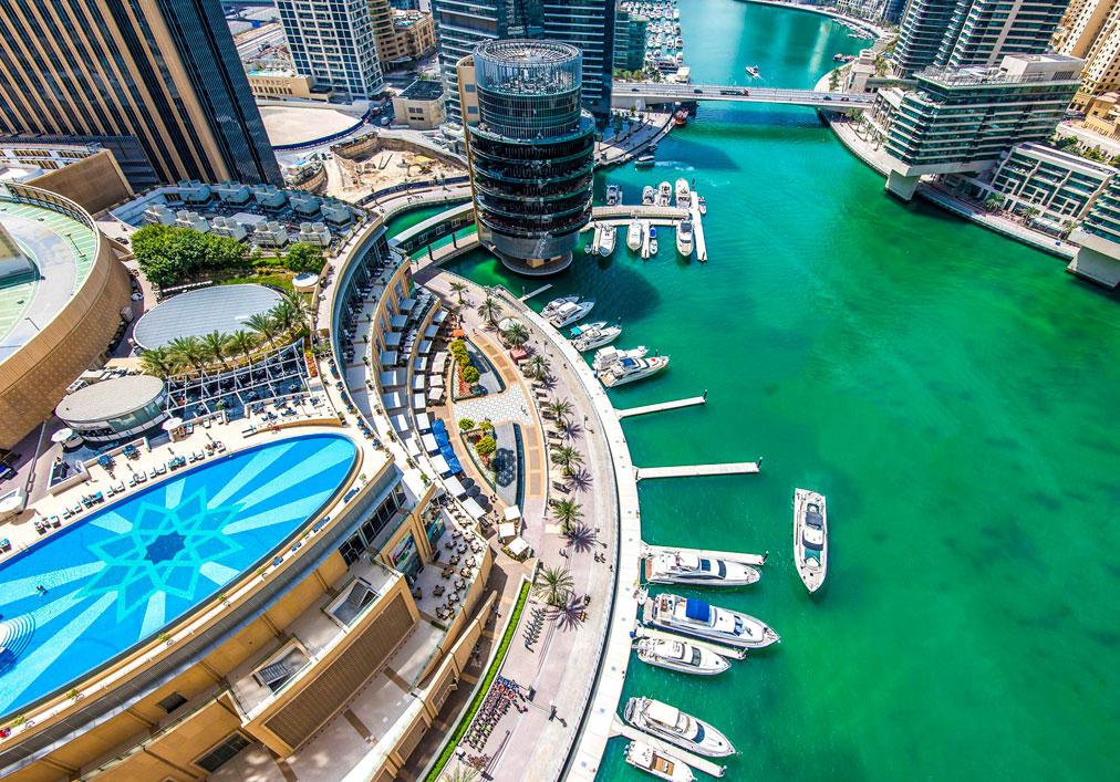 Club de yates Dubai Marina