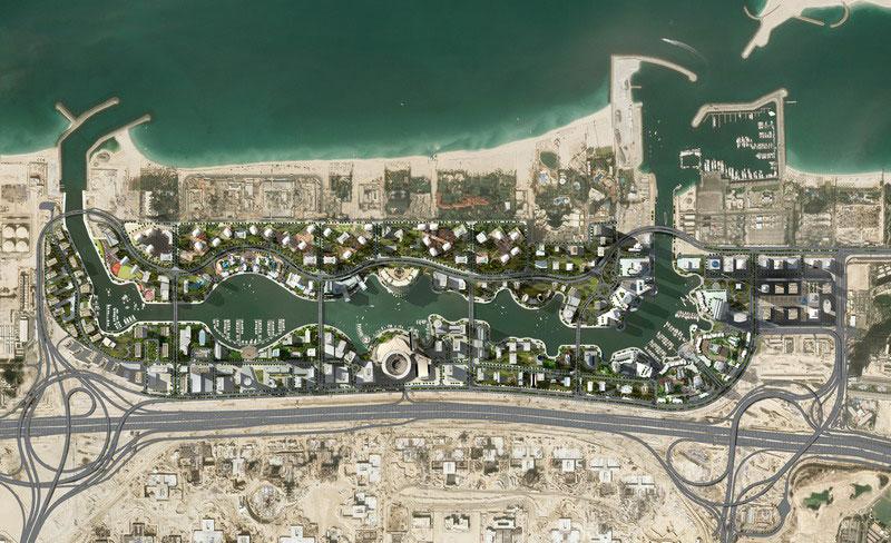 Dubai Marina Master Plan