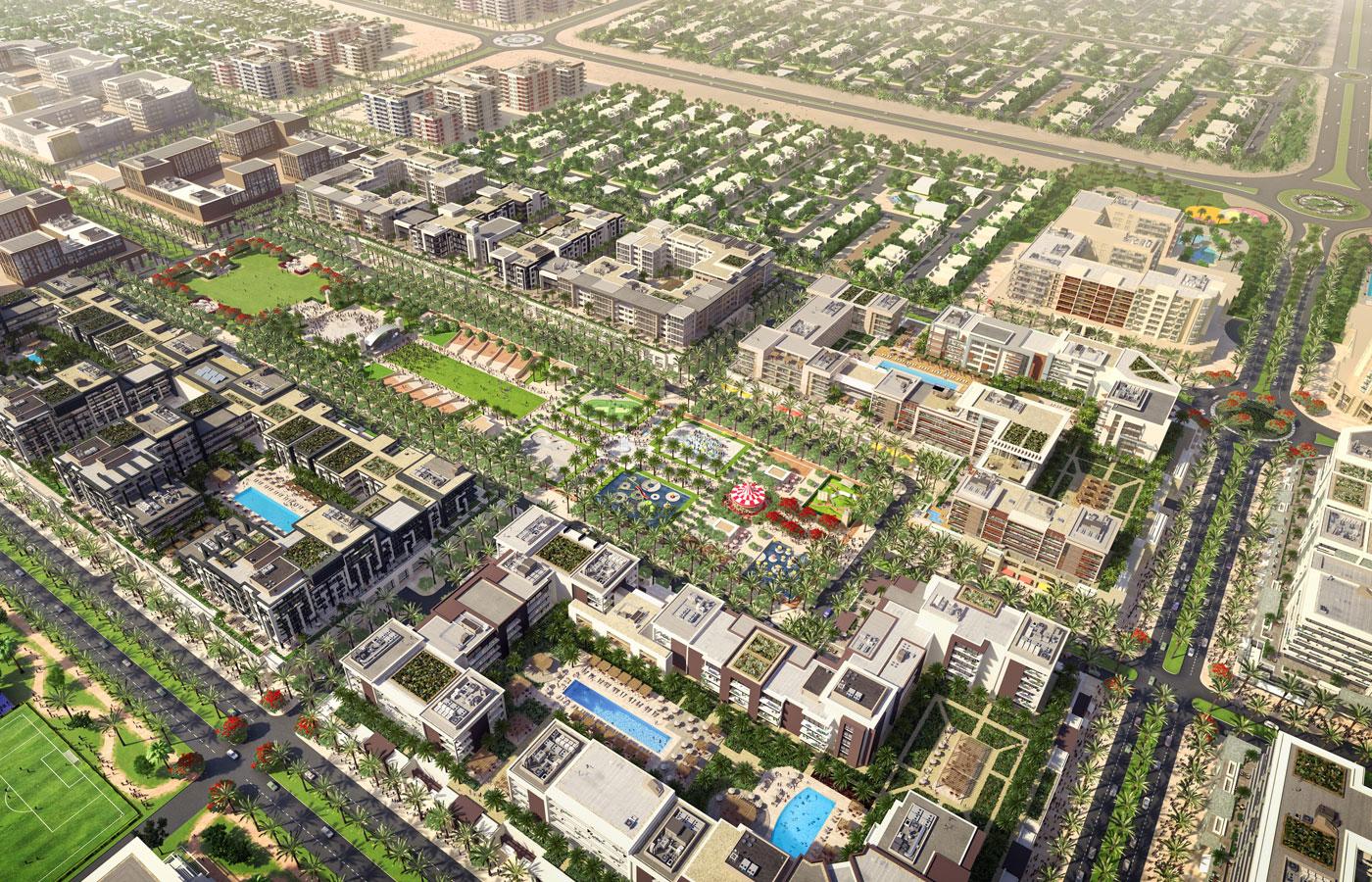 Town Square Dubai Master Plan