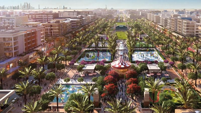 迪拜城市广场